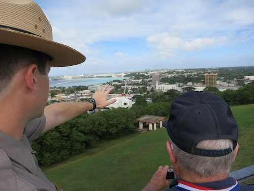 Overlooking Guam