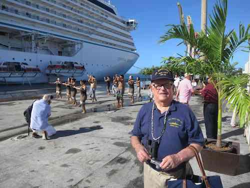 Lloyd Glick on Guam