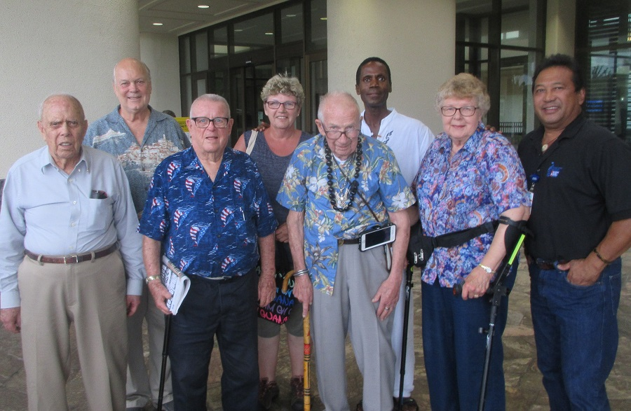 Lloyd and Judy back on Guam in 2019